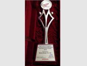RINDER - News Minda Honda Award 02